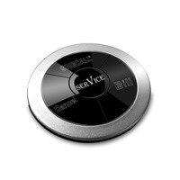 Singcall Услуги вызова, мульти-кнопки с 3 варианта, Услуги, отмена, Билл, серебро пейджер
