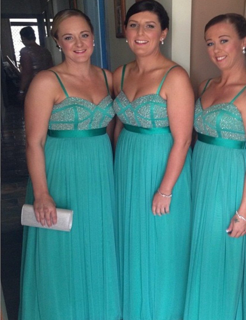 Compare prices on bridesmaid dresses fast online shoppingbuy low hunter sweetheart shining crystal beaded chiffon bridesmaid dresses peachivorypinkred ombrellifo Image collections