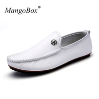 MangoBox 2017 Fashion Mens Drive Shoes New Luxury Brand Men Trainers Designer Men Shoes Flats Casual
