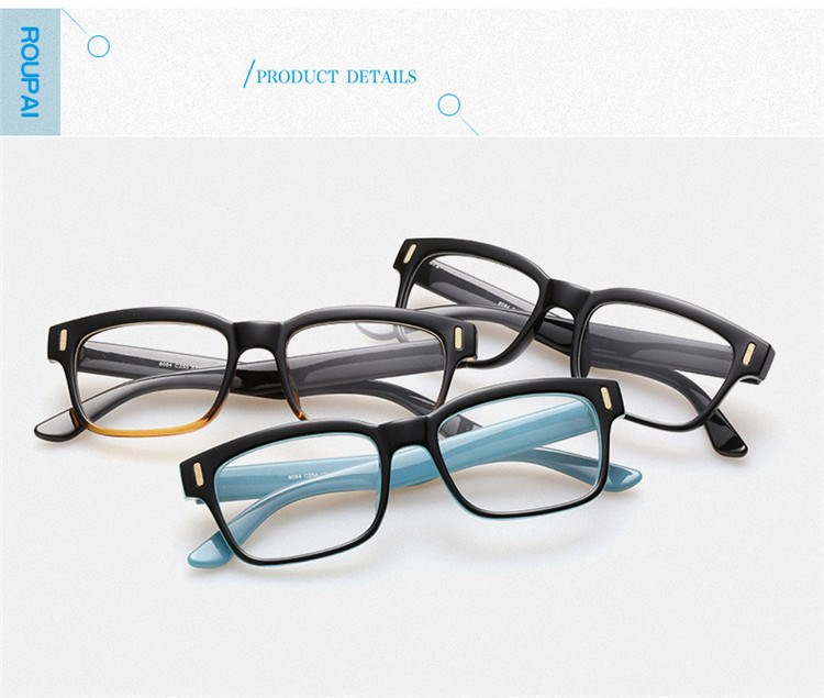 Vintage Brand Design Grade Eyewear eyeglass frames Eyeglasses Eye Glasses Frames For Women Plain optical mirror spectacle frame (24)