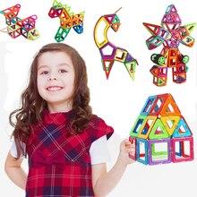 26/38/62 PCS magnetic building blocks Model Building Toys Brick designer Enlighten Bricks magnetic toys with plastic box