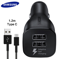 100 Original Car Charger Samsung Galaxy S8 S8 Plus Fast Charger 1 2M Type C Adaptive