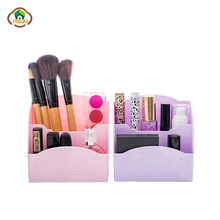 Msjo Makeup Organizer Box Nail Tools Storage Box Plastic Dotting Pen Holder Nail Polish