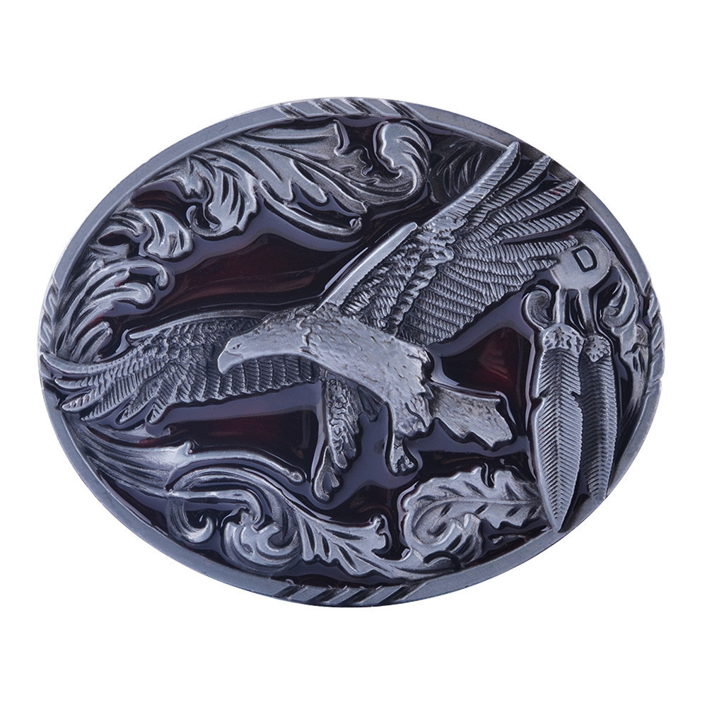 Faitheasy New Decorative Pattern Belt Buckles Zinc Alloy Dropship Western English Letter Buckle For Mens Jeans Suit For Belts