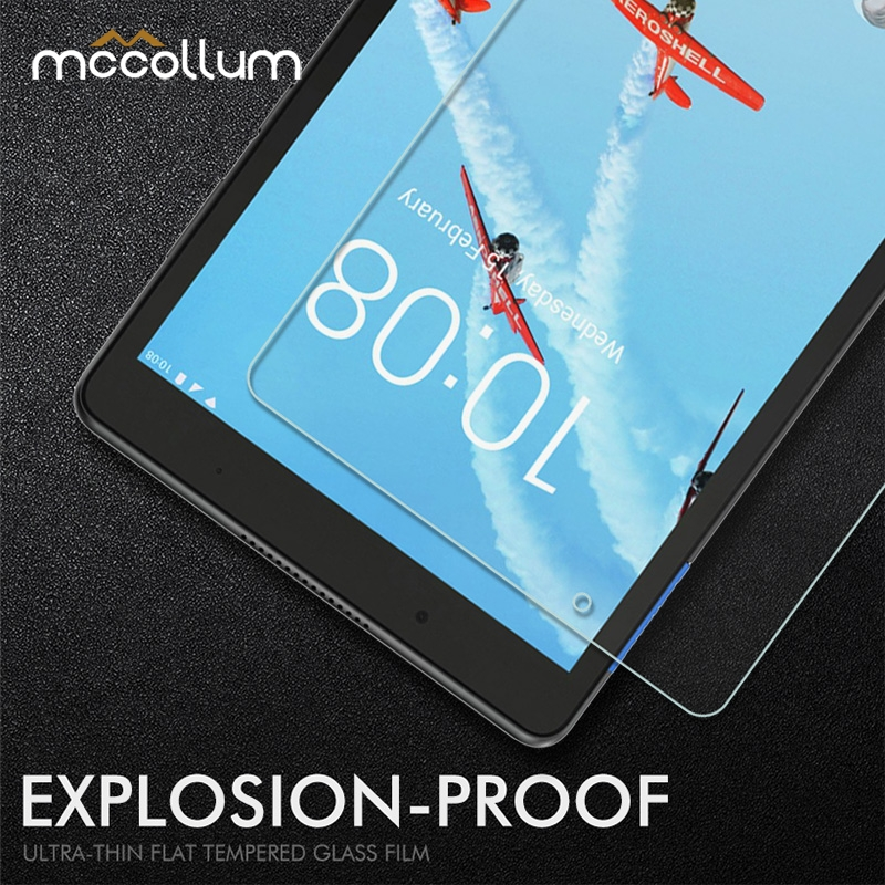 Tablet Tempered Glass For Lenovo Tab E10 E8 E7 M10 M7 M8 Protective Glass Film Screen Protector For Lenovo Miix 310 320 10.1