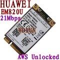 Разблокирована HuaWei EM820U 3 Г WCDMA GSM WWAN Карты EM820w HSPA + 21 МБ над 3 Г нетто