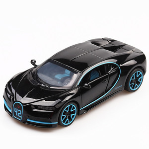 Image 1 - 1:32 Diecast Car Model Metal Sports Car Alloy Car Simulation Racing Model Sound Light Door Pull Back Car Boy Toy For Kids Gift