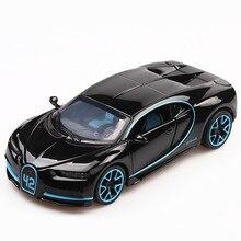 1:32 modèle de voiture moulé sous pression en métal sport voiture alliage Simulation de voiture modèle de course lumière sonore porte tirer arrière voiture garçon jouet pour enfants cadeau
