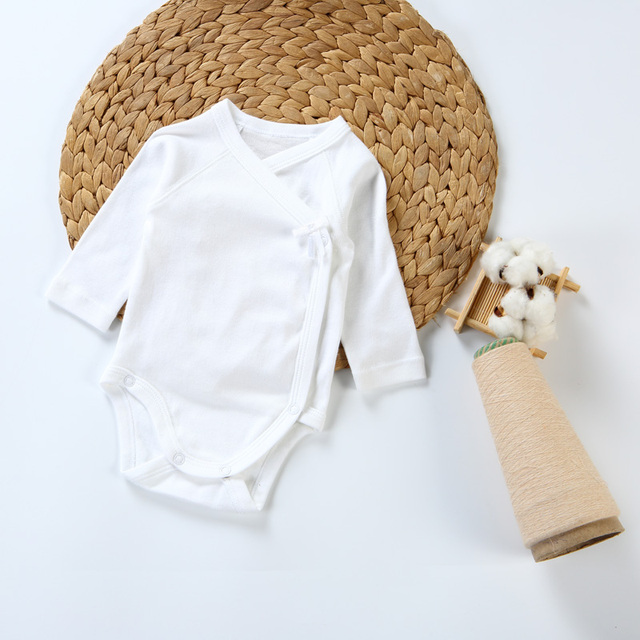 2pc/3pcs/5pcs baby clothes bodysuit boys clothes girl clothes kids long sleeves 100% cotton overalls white baby newborn bodysuit 1