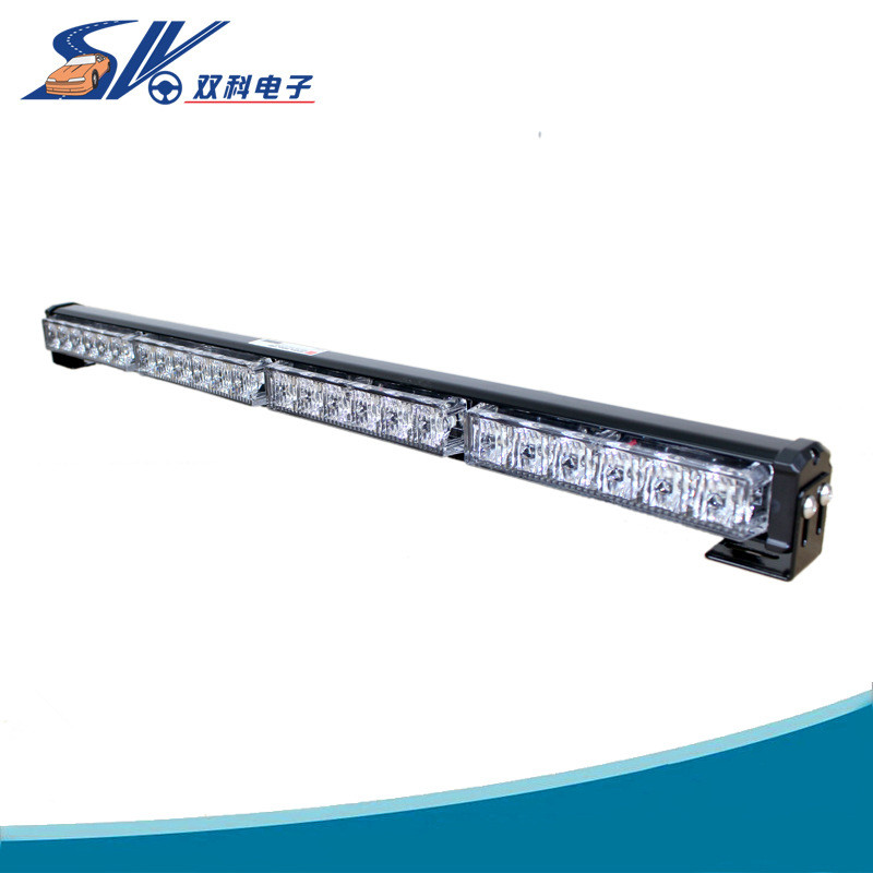 72w LED WORK LIGHT BAR BEACON TOW TRUCK EMERGENCY WARNING STROBE LIGHTS AMBER ...