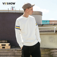 VIISHOW White Sweatshirts Men Brand Clothing Top Quality 2017 Autumn Hoodies Men Fashion Casual Male Hoodies
