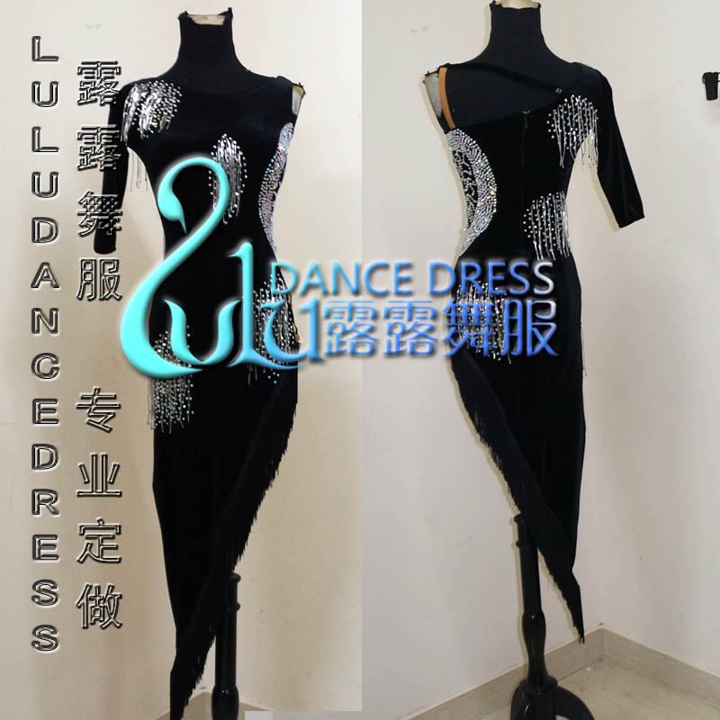 0c88196dd7cfd Hot-sale Rumba Jive Chacha Ballroom Latin Dance Dress Girls Women ,Women or Girl  dress Latin dance dress,DMC stones latin dress For Sale at AliExpress