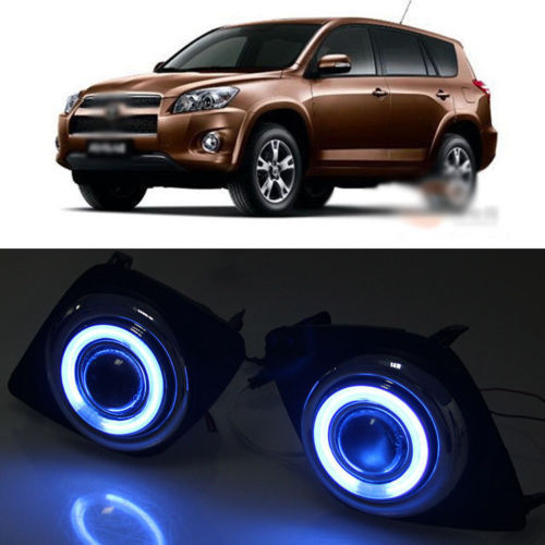 Ownsun Details about  Innovative COB Fog Light Angel Eye Bumper Projector Lens for Toyota RAV4 09-11 ownsun innovative super cob fog light angel eye bumper projector lens for toyota camry