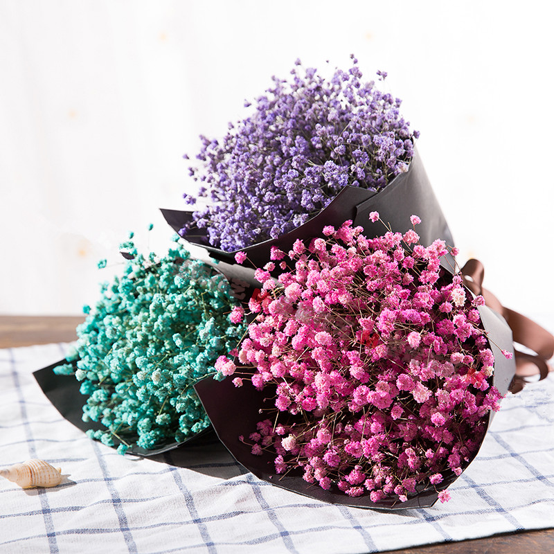Al por mayor importado de flores secas naturales colorida for Decoracion hogar al por mayor