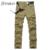 Pantalones cargo para hombre ropa casual de los nuevos hombres ocasionales de camuflaje militar táctico pantalones de algodón tamaño 29-40 no cinturón 8111