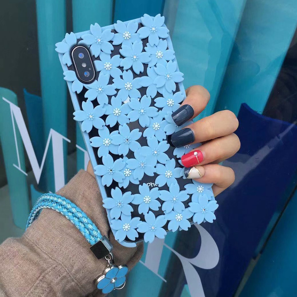 KIPX1048L_1_JONSNOW 3D Flower Hollow Out Phone Case For iPhone 7 8 Silicone Cases for iPhone XS XR 6S 7P 8 Plus XS Max Back Cover