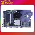 K40AB REV 2.1 материнской платы ноутбука для Asus K50AB X5DAB K40AD K40AF X8AAF X5DAF K50AD K50AF Mainboard DDR2 Полный Испытано