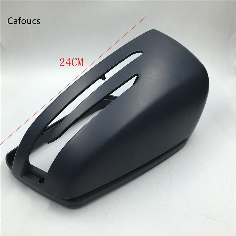 Cafoucs Left & Right Side RearView Mirror light Cover Cap For Mercedes Benz E C S Class W212 W204 W221 C200 C300 S350 S500 E300
