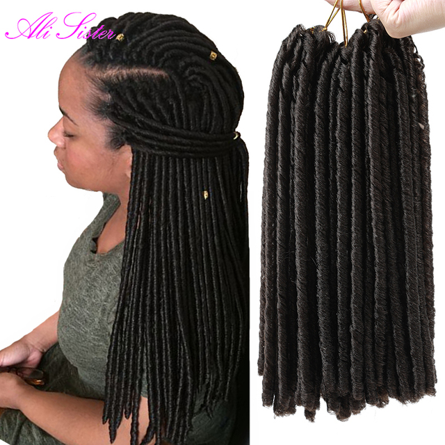 Faux Locs Braiding Hair Dreadlocks Braids Hair Extensions