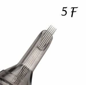 Image 3 - 5 sztuk F igły do tatuażu jednorazowe igły do tatuażu 5F 7F 9F 11F 13F 15F stali medycznej do pistoletu maszynowego liner Shader