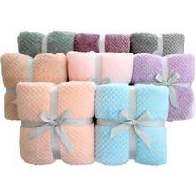 70X100 см 3D пушистый ананас зерна фланель розовый уютный фото позирует детское одеяло зима ребенок малыш постельные принадлежности одеяло ПЭТ одеяло