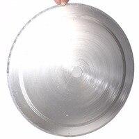 18 дюймов 450 мм Diamond резка диск Lapidary режущие диски диск зубчатый обод 2 кладки ювелирные инструменты для камня агат драгоценный камень