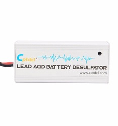 New Silver12 Volts Lead Acid Battery Desulfator Battery Maintainer for Cars, Motorcycles, ATV, Boat, RV