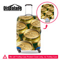 Dispalang Elastic Luggage Protective Cover Cerveca Beer Anti-Scratch Spandex Suitcase Dust Cover Apply to 18-30 Inch Trunk Cases