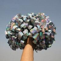 10 шт. помпон для чирлидинга помпон для Черлидинга Plastic1, 000*3/4 в ширину ленты