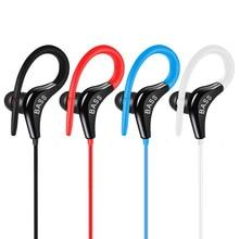 ยอดนิยมกีฬาหูฟัง Deep BASS หูฟัง Super DEAL สำหรับโทรศัพท์ IPhone Xiaomi Samsung PC