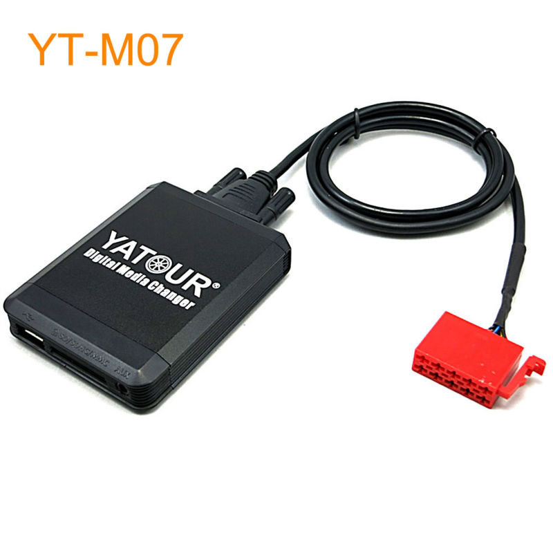 Yatour Car MP3 USB SD CD Changer for iPod AUX with Optional Bluetooth for Mercedes Benz 1994-1998 W202 C140 W140 V140 W210 car usb sd aux adapter digital music changer mp3 converter for volkswagen beetle 2009 2011 fits select oem radios