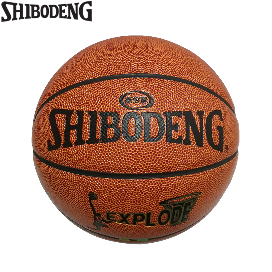 Size 6 PU Leather Standard Women Basketball Indoor Outdoor Ballon Teen Training Match Basket Ball Free Net Bag Needle 601
