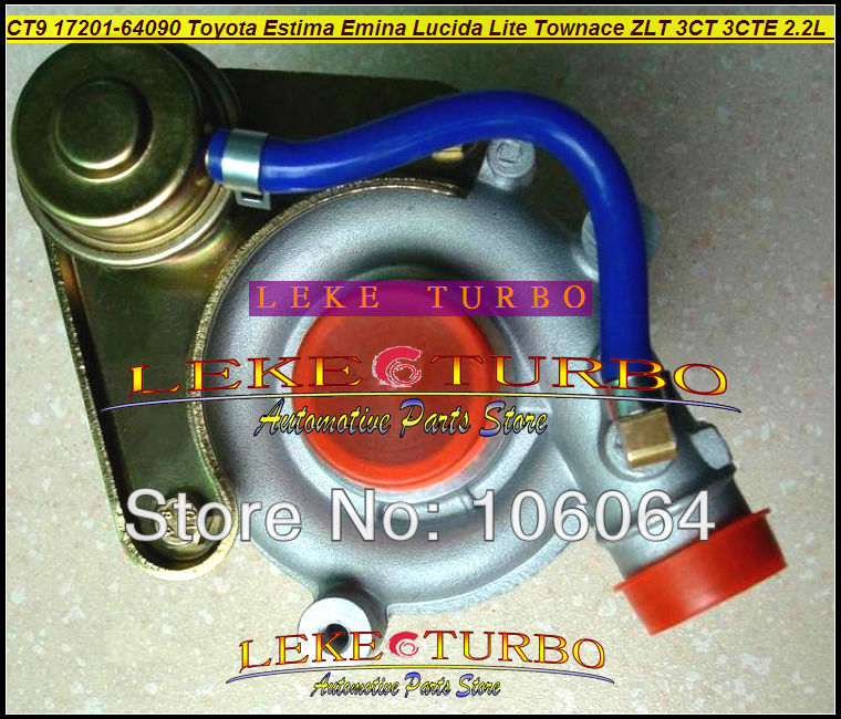 Free Ship CT9 17201-64090 Turbo Turbocharger For TOYOTA Townace Town ace Town Lite Estima Emina Lucida 3CTE 3CT 3C-T 2.2L 90HP