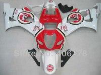 Лидер продаж, GSXR1000 03 04 GSXR 1000 для Suzuki GSX R1000 2003 2004 Lucky Strike гонка зализах мотоцикла Kit (литья под давлением)