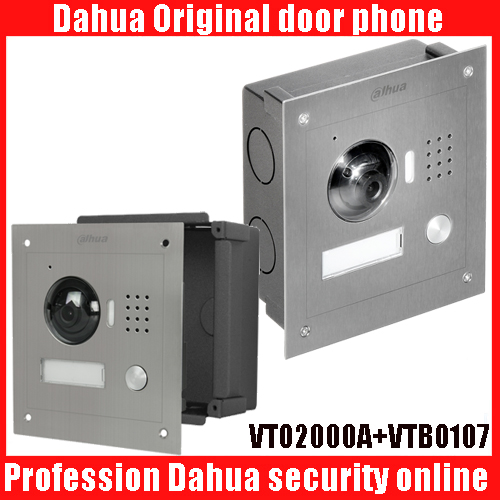Dahua DH-VTO2000A IP Metal Villa Outdoor Station Video Door Phone VTO2000A POE Outdoor Station Video Door bell with vto107 ...