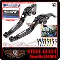 Adjustable Foldable Extendable Motorbike Brakes Clutch CNC Levers For SUZUKI GSR 750 11-14 GSR 600 2006-2011GSR 400 2008-2012