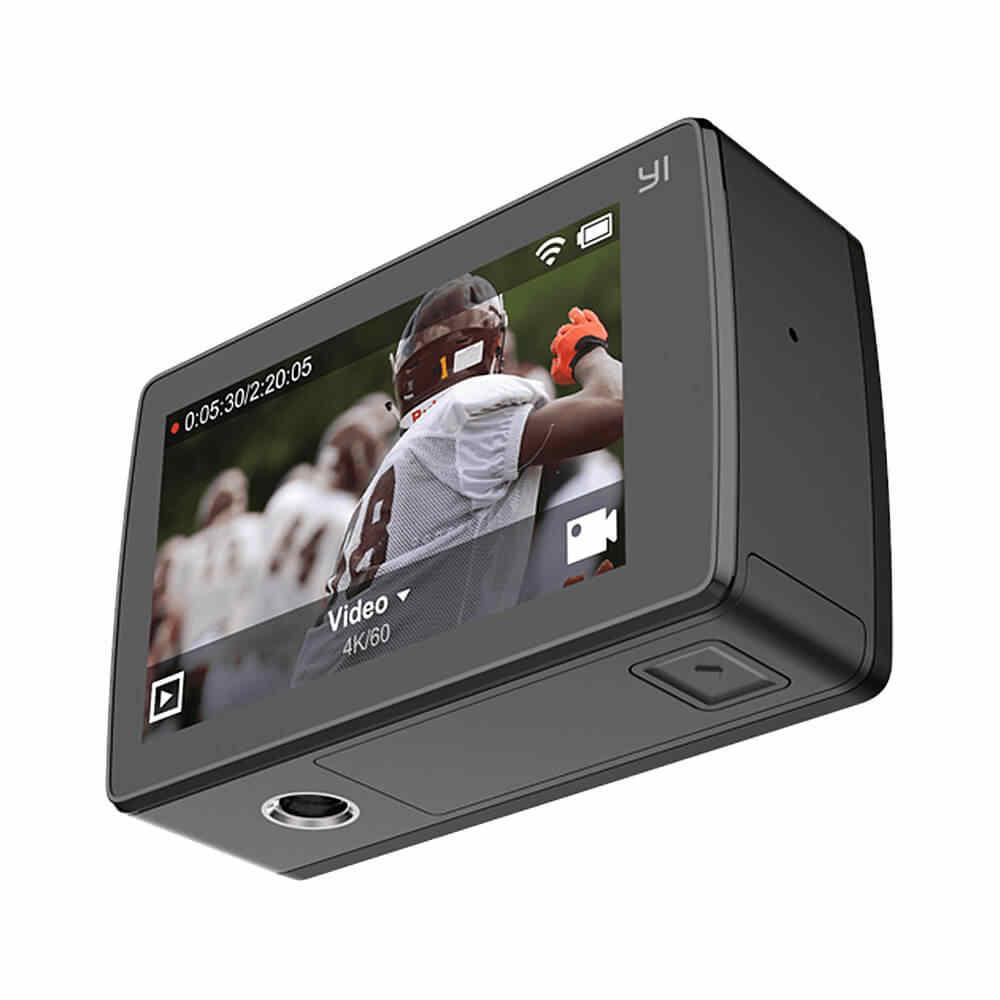 YI 4 K плюс экшн Камера + 64 Гб SD карты 2,19 'Ambarella H2 для SONY IMX377 12MP 155 градусов 4 K Ultra HD для Xiaomi 4 K + Спорт действий Cam