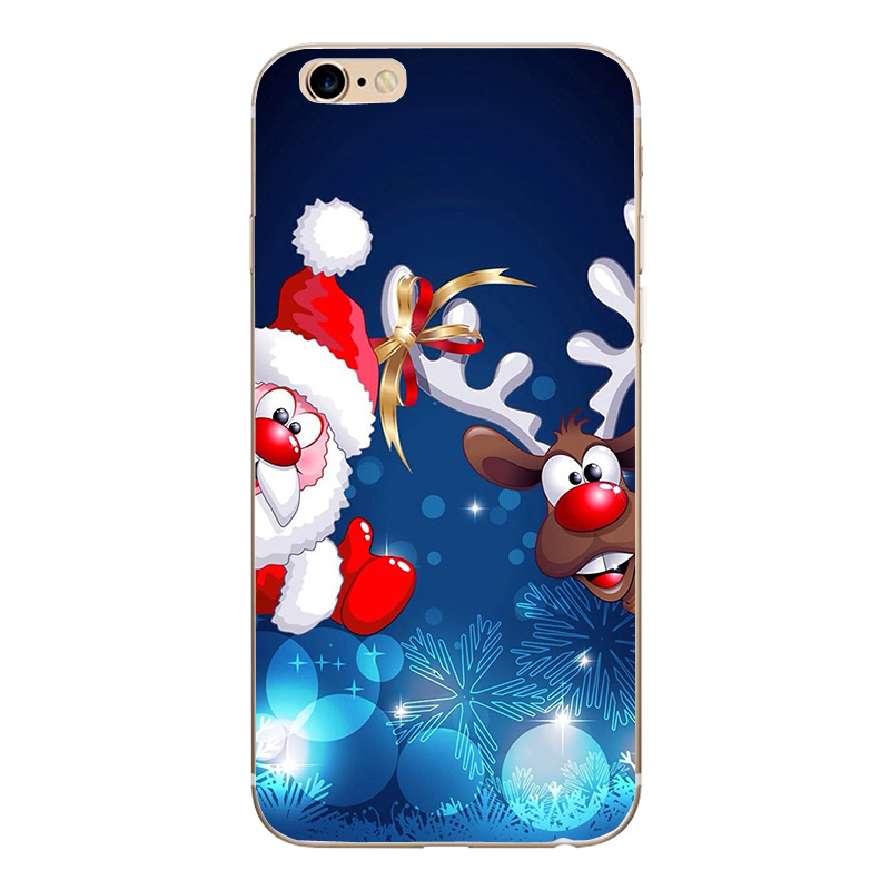 Christmas Phone Case Iphone 7.Us 0 94 30 Off Merry Christmas Phone Case Gift Santa Claus Deer Tree For Iphone 7 Plus 6 6s 5 5s Se Soft Tpu Silicone Phone Case Cover In Fitted