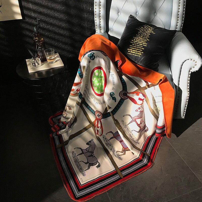 H cachemire couverture Crochet doux laine écharpe châle Portable chaud Plaid canapé lit polaire tricoté jeter Towell Cape couverture rose