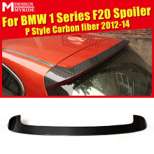 F20 Roof Spoiler AEP Style Carbon Fiber For 1 Series 118i 120i 125i 130i 135i Rear Trunk Wing car styling 12-14