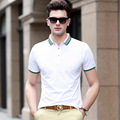 2016 Limited Solid Yahit In The Summer Of 2017 New Men's Short Sleeve T-shirt Lapel Color Men Casual Menswear Factory Cotton
