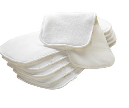 Super Dry Cloth Inserts Washable Cotton Hemp Fleece For GPants Gdiapers (Pack Of 10PCS)