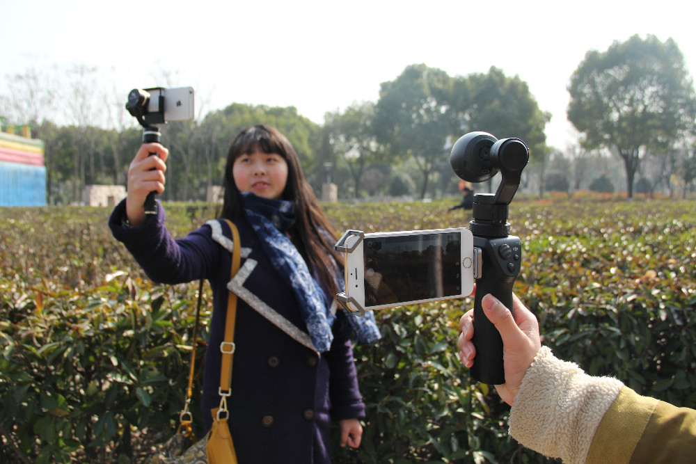 Free Gift ! DJI Osmo Handheld 4K Camera and 3-Axis Gimble Stabilizer Gimbal Original 3-Axis Gimbal DJI phantom 3 DHL EMS Free