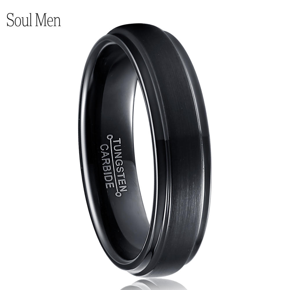 Soul Men Wholesale Tungsten Rings For Special Customer