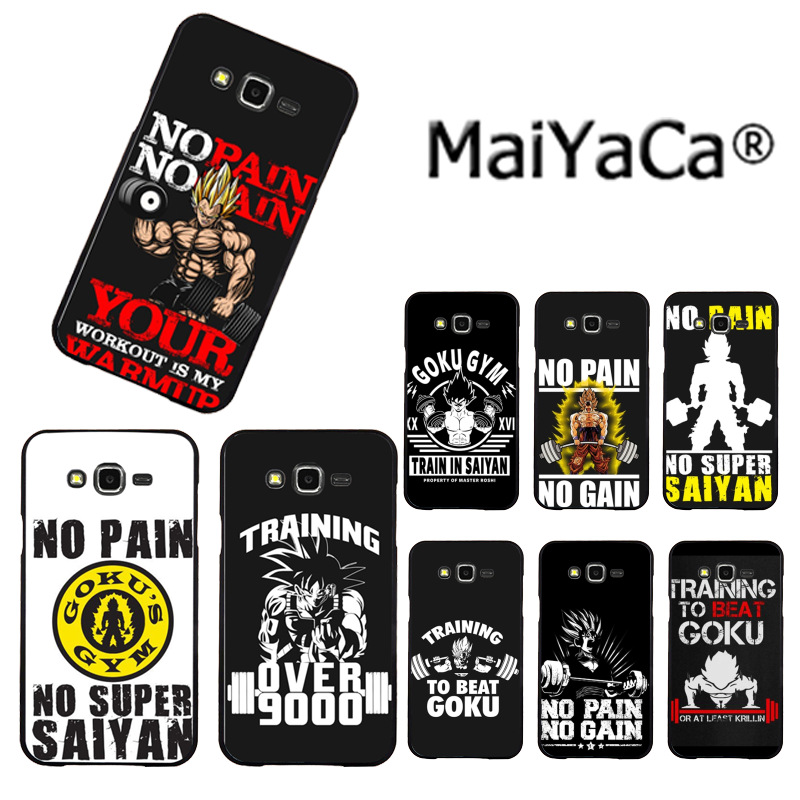 Half-wrapped Case Cellphones & Telecommunications Active Maiyaca Anime No Pain No Gain Dragon Ball Z Goku Luxury Phone Case For Samsung 2015j1 J5 J7 2016j1 J3 J5 J7 Note3 4 5