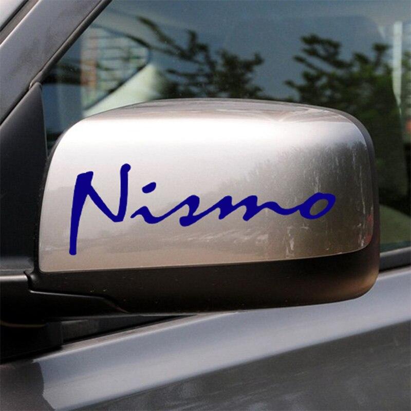 5 Pairs Customization NISMO On Car Rearview Mirror Car-Styling For NISSAN QASHQAI JUKE X-TRAIL TIIDA ALMERA NOTE PRIMERA TEANA