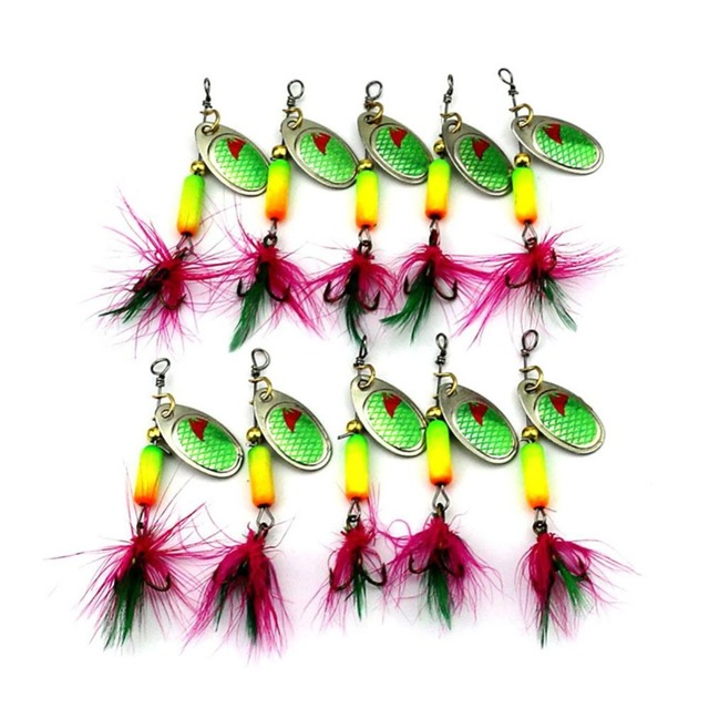 Metal Sequin Spinners Multicolor Pattern