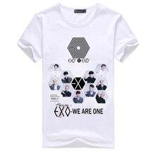 Bts exo корейский стиль got7 белая футболка футболка футболка топы лето рок битник хип-хоп женщины ulzzang harajuku
