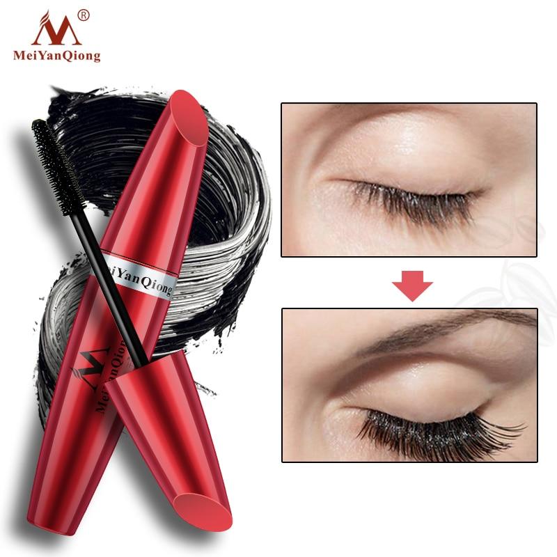 Moderne Mode Lash Mascara Natürliche Make-Up Curling Thick Falsche Wimpern Pflege Make-up Wasserdicht Kosmetik Verlängerung Augen