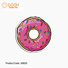 A0635 sticker sweet donut death bear dragon ant hero waterproof suitcase laptop guitar luggage DIY skateboard bicycle toy HZ 30(China)